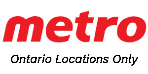 Metro - Ontario Locations Only