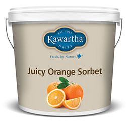 Juicy Orange Sorbet